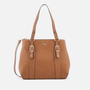 Dune Women's Dakess Medium Buckle Detail Tote Bag - Tan