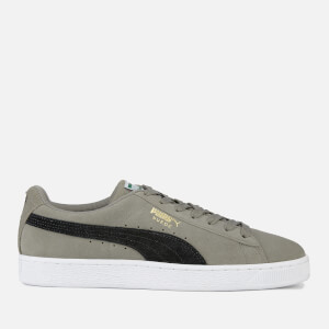 Puma Men's Suede Classic Trainers - Charcoal Grey/Puma Black