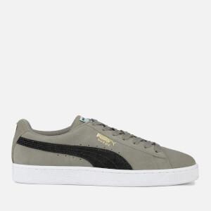 Puma Men's Suede Classic Trainers - Charcoal Grey/Puma Black