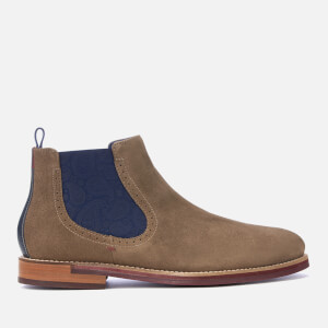 Ted Baker Men's Secaint Suede Chelsea Boots - Grey