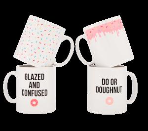Doughnut Mugs - 4 Pack