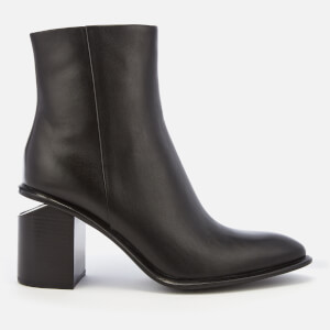 Alexander Wang Women's Anna Mid Heeled Boots - Black