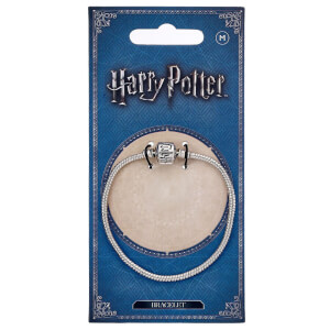 Harry Potter Silver Charm Bracelet (Various Sizes)