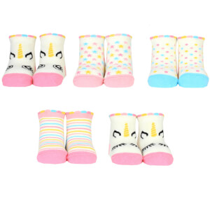 Cucamelon Baby Unicorn Socks Gift Set - 0-12 Months