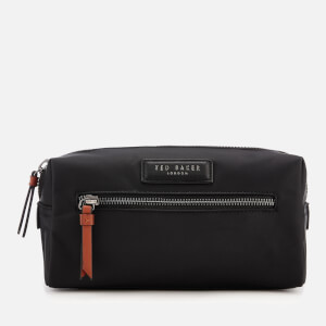 Ted Baker Men's Blueye Satin Nylon Wash Bag - Black