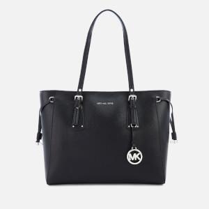MICHAEL MICHAEL KORS Women's Voyager Tote Bag - Black/Silver