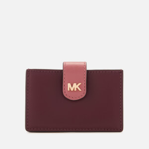 MICHAEL MICHAEL KORS Women's Money Pieces Card Case - Oxblood Multi