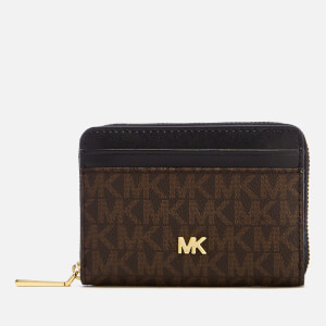 MICHAEL MICHAEL KORS Women's Money Pieces Coin Card Case - Brown/Black