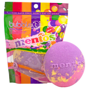 Bubble T x Mentos Fruit Splash Tea Giant Bath Bomb (150g): Image 1