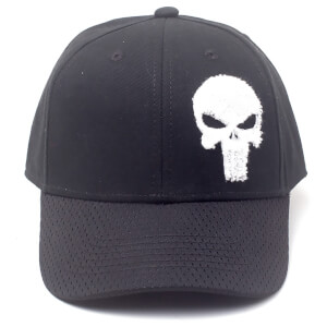 b28d34db73c Marvel Punisher Men s Cap - Black