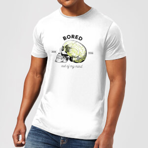 Bored Out Of My Mind Men's T-Shirt - White