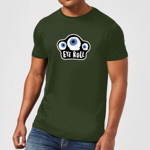 Eye Roll Men's T-Shirt - Forest Green