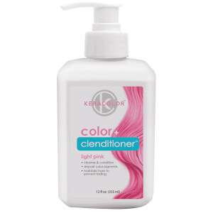 Keracolor Colour + Clenditioner - Light Pink 355ml