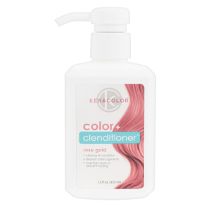 Keracolor Colour + Clenditioner - Rose Gold 355ml