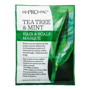 HI PRO PAC Tea Tree and Mint Hair and Scalp Masque 52ml