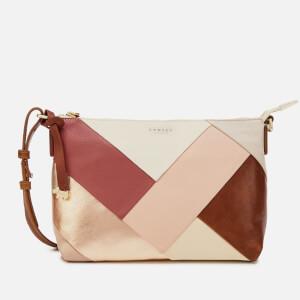 Radley Women's Oxleas Colourblock Medium Cross Body Zip Top Bag - Oyster