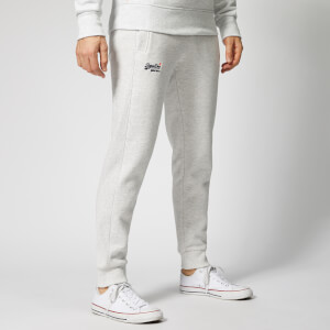 Superdry Men's Orange Label Joggers - Ice Marl