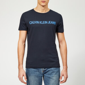 Calvin Klein Jeans Men's Institutional Logo Slim T-Shirt - Night Sky