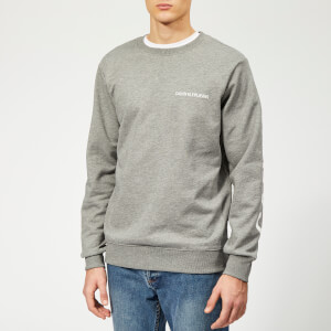 Calvin Klein Jeans Men's Institutional Back Logo Sweatshirt - Grey Heather