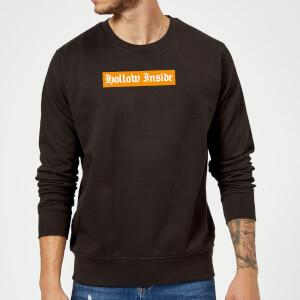 Hollow Inside Sweatshirt - Black