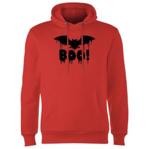 Boo Bat Hoodie - Red