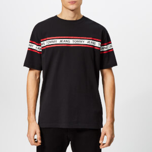 Tommy Jeans Men's Essential Tape T-Shirt - Tommy Black
