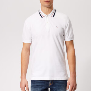 Tommy Jeans Men's Classic Stretch Polo Shirt - Classic White