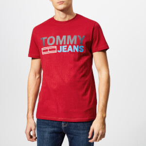Tommy Jeans Men's Essential Logo T-Shirt - Samba