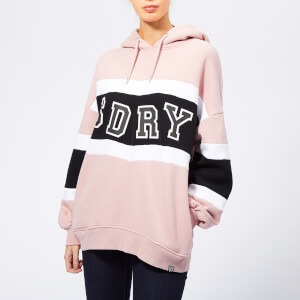 Superdry Women's Brooke Boyfriend Hoodie - Brooke Pink