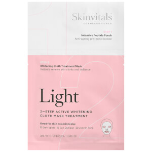 Skinvitals 2 Step Face Mask - Light