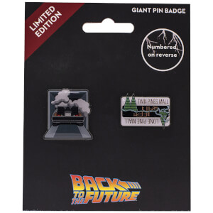 Back to the Future Limited Edition Pin Badge Set