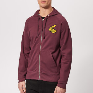 Vivienne Westwood Anglomania Men's Classic Zip Up Sweatshirt - Bordeaux