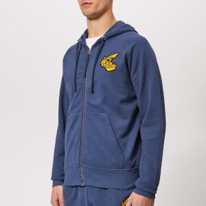Vivienne Westwood Anglomania Men's Classic Zip Up Sweatshirt - Navy