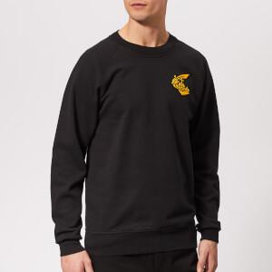 Vivienne Westwood Anglomania Men's Classic Badge Sweatshirt - Black