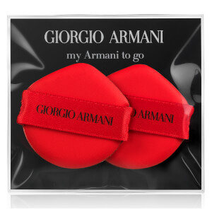 Giorgio Armani My Armani to Go Cushion Foundation Sponge x 2