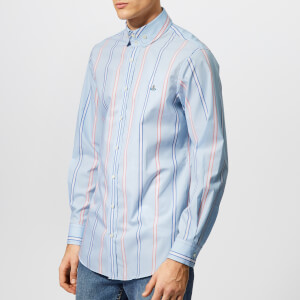Vivienne Westwood Men's Pyjama Stripe Shirt - Blue