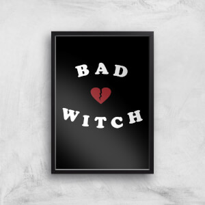 Bad Witch Art Print