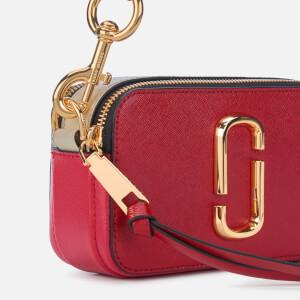 Marc Jacobs Women's Snapshot Cross Body Bag - Red Multi: Image 4
