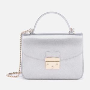 Furla Women's Candy Meringa Mini Cross Body Bag - Silver