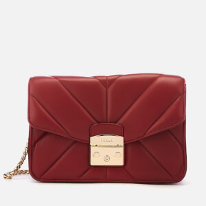 Furla Women's Metropolis Small Shoulder Bag - Red