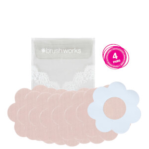 brushworks Satin Petal Nipple Covers