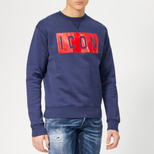 Dsquared2 Men's Icon Sweatshirt - Navy