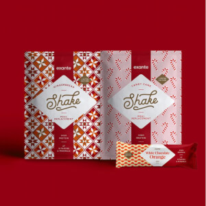 Geschenk-Weihnachtspäckchen
