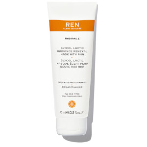 REN Supersize Glycol Lactic Radiance Renewal Mask 75ml