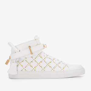 Buscemi Men's 100MM Mono Trainers - White