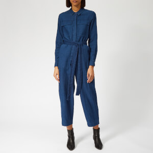 Whistles Women's Pia Utility Denim Jumpsuit - Denim