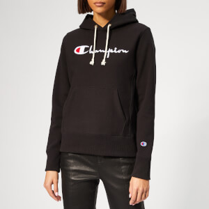 Champion Women's Hooded Sweatshirt - Black