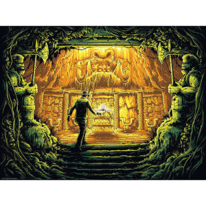 "Serigrafía Indiana Jones: en busca del arca perdida ""There is Nothing To Fear"" - Dan Mumford"