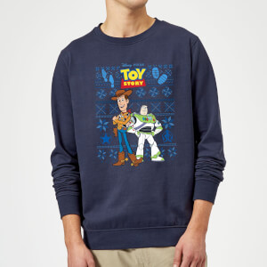 Disney Toy Story Christmas Sweatshirt - Navy