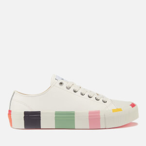 PS Paul Smith Women's Nolan Canvas Low Top Trainers - White